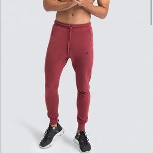 NWT Doyoueven Base Pants Earth Red Joggers Size L